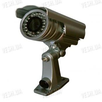 Цветная уличная (наружная) видеокамера с IR подсветкой до 25 метров, 1/3 SONY, 420 TVL, 0 LUX, f=4-9 mm варифокал, крепление 3D (модель 755 DS)