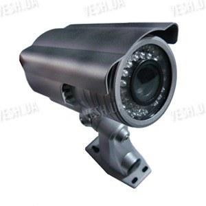 Цветная уличная (наружная) видеокамера с IR подсветкой до 20 метров, 1/3 SONY, 480 TVL, 0 LUX, f=4-9 mm варифокал (модель 817 IV 2B)