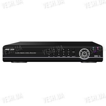 Стационарный 8-ми канальный H.264 видеорегистратор realtime (2СH D1, 6CH CIF) 8 аудиовходов, VGA, сеть, PTZ, USB, мышь (модель DVR 8308AV)