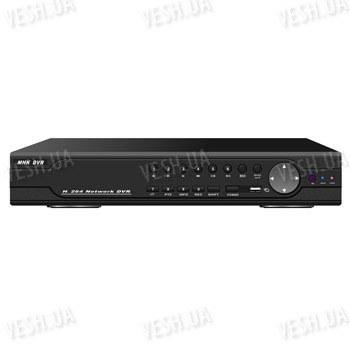 Стационарный профессиональный 16-ти канальный H.264 видеорегистратор с одновременной записью 16 CH в D1, 16 аудиовходов, VGA, сеть, PTZ, USB, мышь (модель DVR 9316AV)