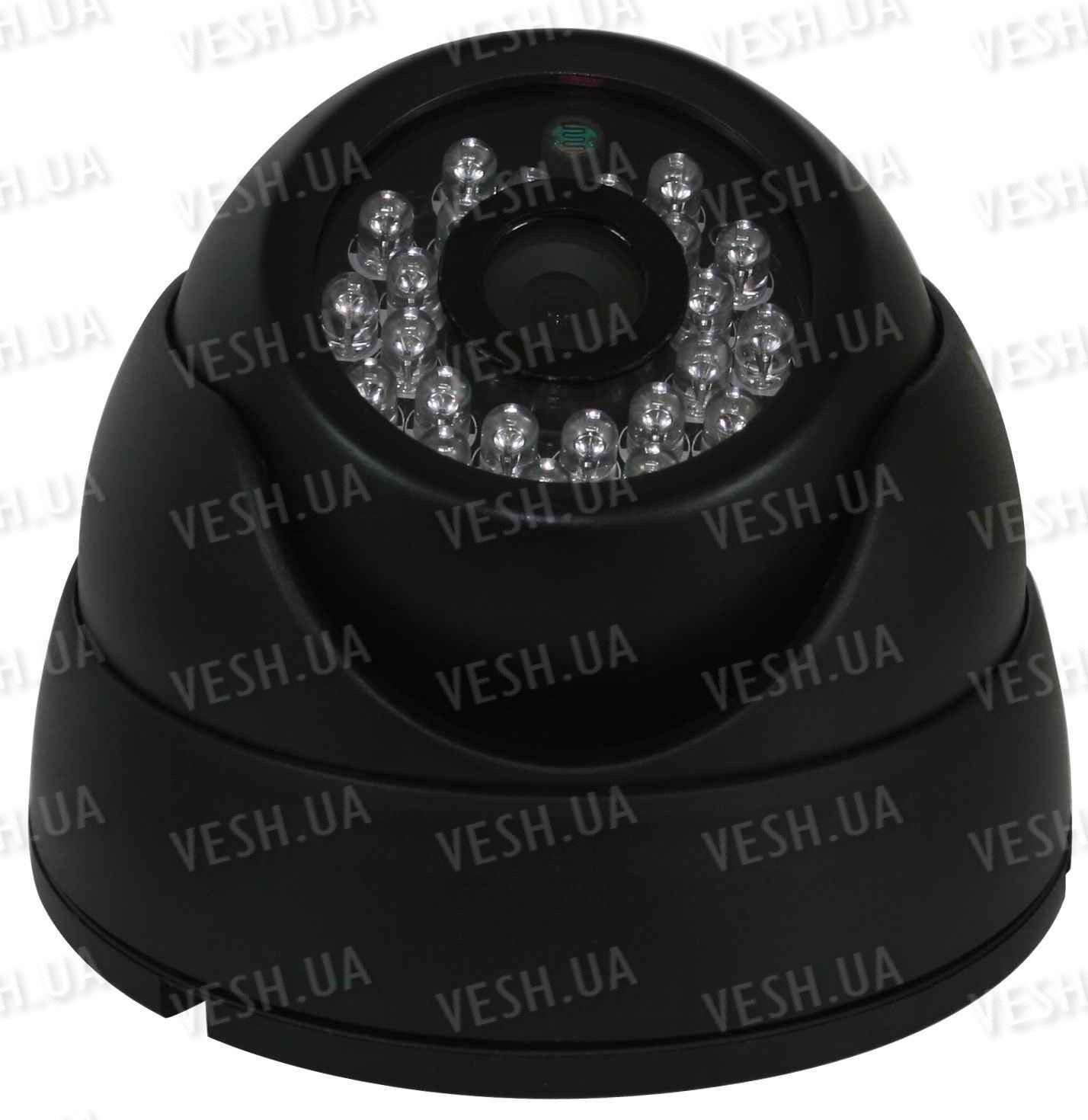 """Внутрення купольная CCTV цветная охранная камера видеонаблюдения 1/3"""" COLOR SONY Super HAD II, Effio-E, 480 TVL, 0 lux, ИК до 20 м (модель NCHMIR23)"""