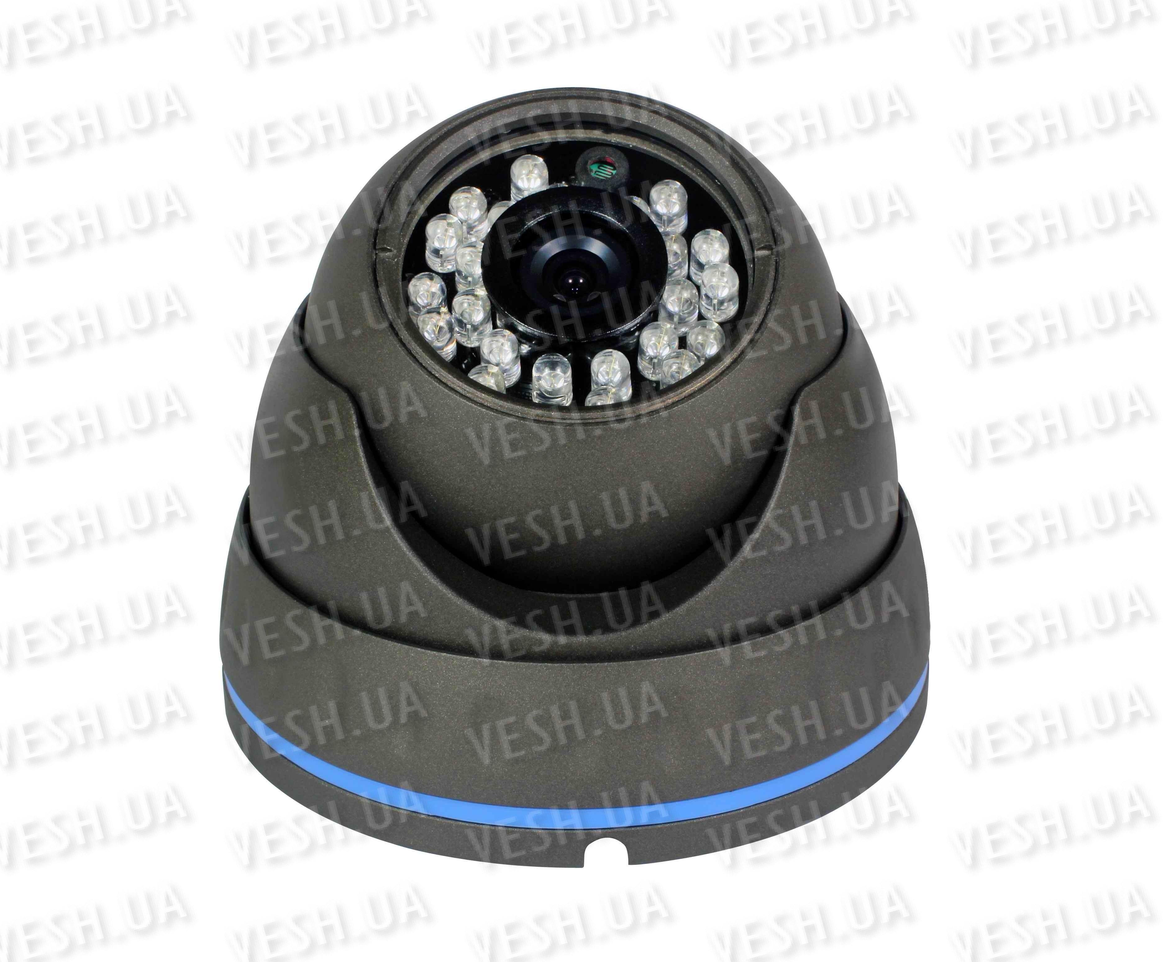 """Наружная купольная CCTV цветная охранная камера видеонаблюдения 1/3"""" COLOR SONY Super HAD II, 600 TVL, 0 LUX, ИK до 20 метров модель NIRE600"""
