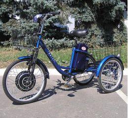 Электровелосипед HAPPY (трицикл)