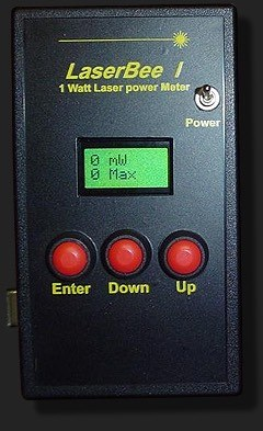 1050мВт USB Лазерный измеритель мощности + Термоэлемент датчика