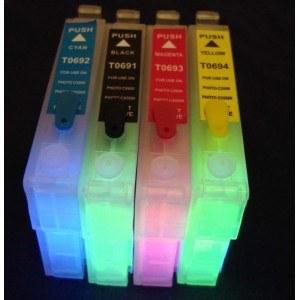 Картридж EPSON T069 с невидимыми чернилами УФ UV (светятся в ультрафиолете)