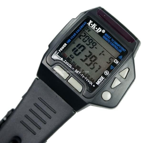 Универсальный пульт-часы ДУ XKD c управлением любым телевизором