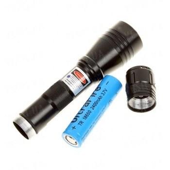 Супер мощная фиолетовая лазерная указка с длиной волны 405 nm и мощностью 1000 mW