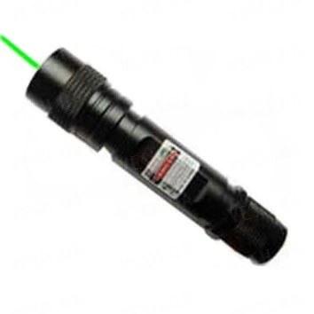 Мощная металлическая зеленая лазерная указка 532 nm с радиатором FirePoint мощностью 350 mW