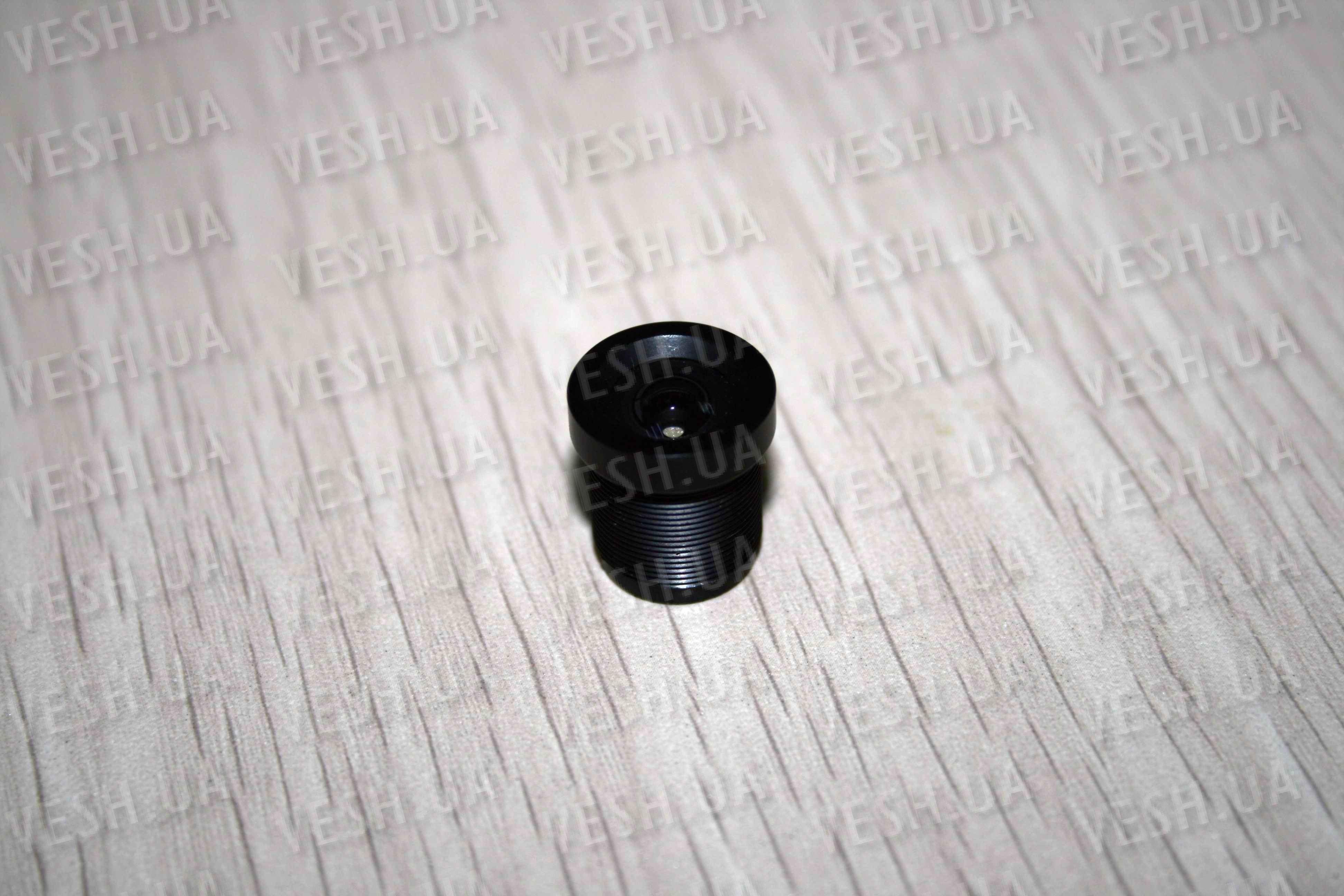 Фиксированный SC объектив для охранных камер видеонаблюдения f=3,6 мм, угол обзора 67 °