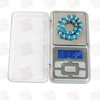 Точные портативные карманные электронные ювелирные мини весы 500 гр с дискретой 0.1 грамма
