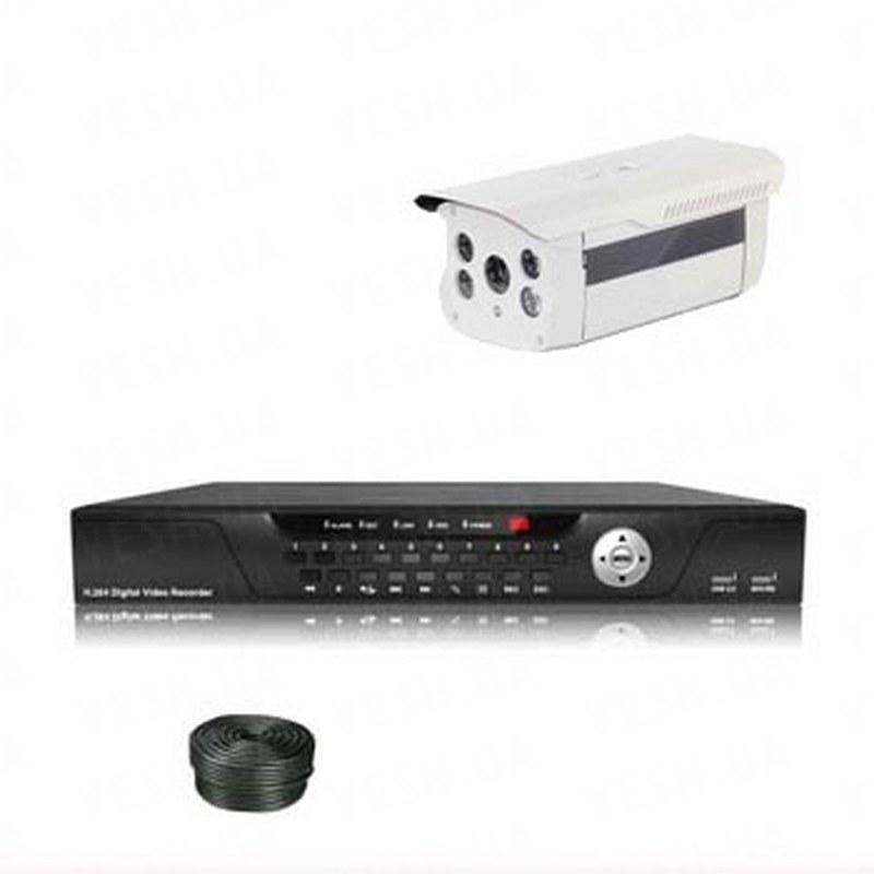 Мегапиксельный готовый комплект видеонаблюдения HD-SDI с одной уличной камерой HD 1080P