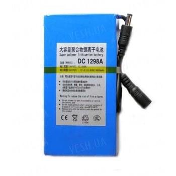 Оригинальный литий-ионный аккумулятор 12V с РЕАЛЬНОЙ ёмкостью 6600mAh, током разряда 3А и платой защиты от разряда и перезаряда (YABO-1206600)