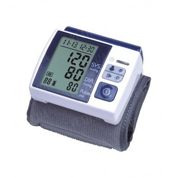 Наручный многофункциональный автоматический измеритель давления и пульса с памятью и мини компьютером (мод. WA200)