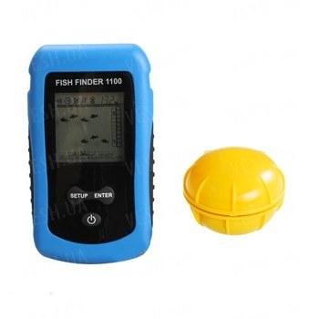 Портативный беспроводный эхолот со встроенной антенной FISH FINDER (мод. FF-1100)
