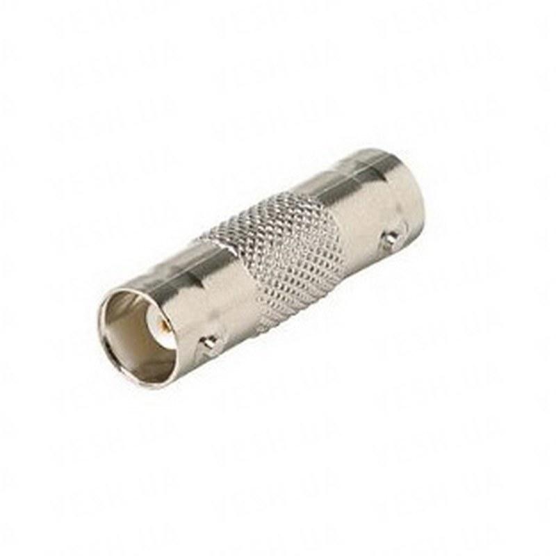 10 штук переходников с BNC папа на BNC папа для соединения кабелей для видеонаблюдения (мод. BNC-08)