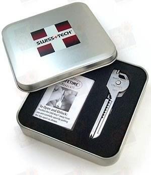 Swiss-Tech Utili-Key 6-In-1 в подарочной коробке