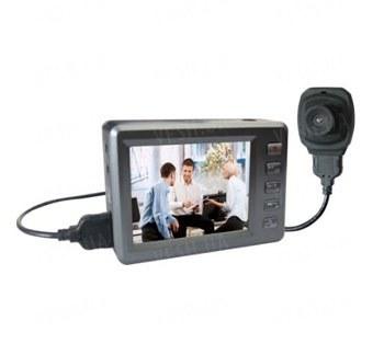 Комплект из LCD мини регистратора FULL HD 1080P и выносной мини камеры с углом обзора 140 градусов (мод. Engel Eye 609). НОВИНКА 2013!!!