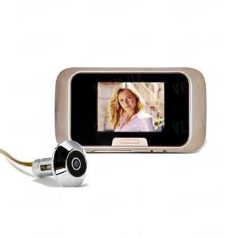 Видеоглазок с 2.8 дюймовым экраном и записью фотографий на карту памяти (модель EQUES R03)