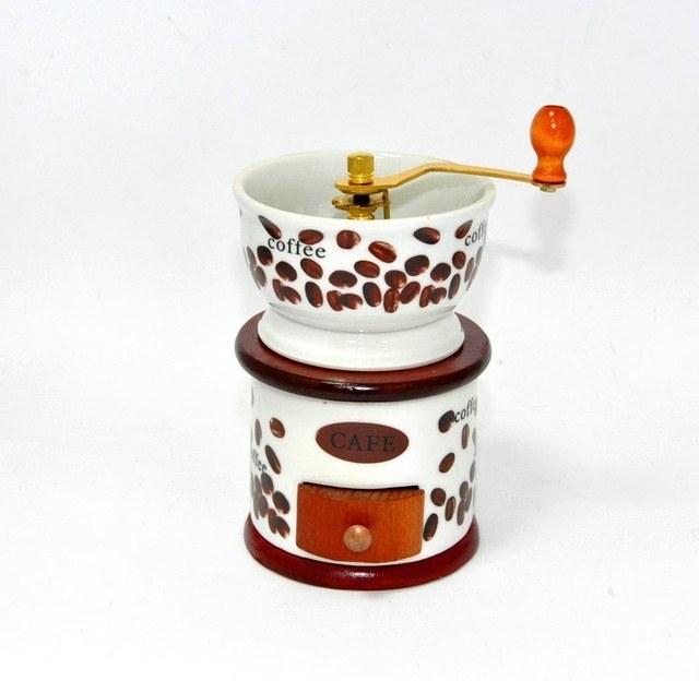 """Ручная кофемолка """"Basin"""", оригинальный сувенир"""