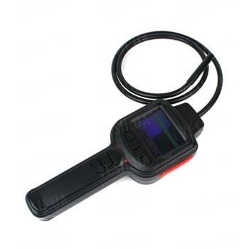 Бюджетная 2.7 дюймовая инспекционная камера - эндоскоп с длиной световода 1 метр и фокусным расстоянием 15-30 сантиметров с записью на SD карту памяти (модель KY-2722)