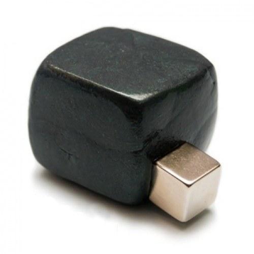 Черный Хендгам, умный пластилин, магнитный 50г – занимательная и полезная игрушка, жвачка для рук, развивающая игрушка
