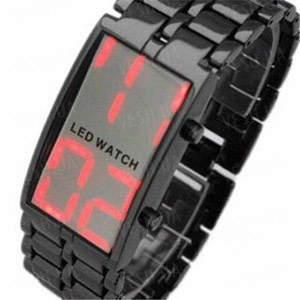 Мужские стильные часы  Iron Samurai c LCD дисплеем (КАЧЕСТВЕННЫЙ ОРИГИНАЛ!!!)