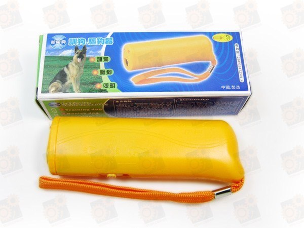 Компактный электронный ультразвуковой отпугиватель собак (модель CD-100)