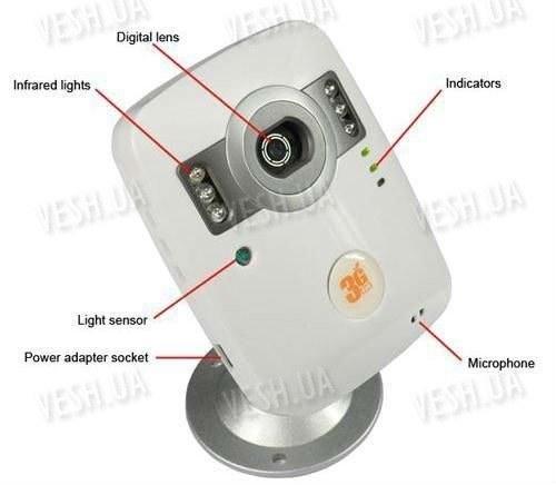 3G EYE мобильная автономная ИК камера сигнализация