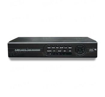 Профессиональный гибридный 3 в 1 (DVR/HVR/NVR) 4-х канальный видеорегистратор с разрешением записи 960H аналоговых + цифровых IP камер, 4 аудио, PTZ, HDMI, ONVIF 2.0, поддержкой 3G - WIFI - идеально для камер 700 TVL и выше (модель 3204HR)