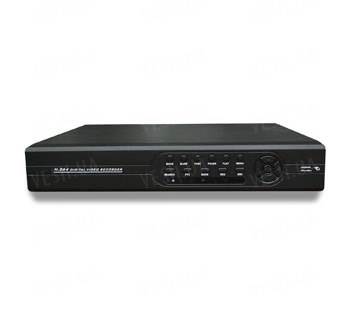 Профессиональный гибридный 3 в 1 (DVR/HVR/NVR) 8-ми канальный видеорегистратор realtime в D1 (8 каналов) с поддержкой цифровых IP камер, 8 аудио, PTZ, HDMI, ONVIF 2.0, поддержкой 3G &amp- WIFI (модель 4208R)