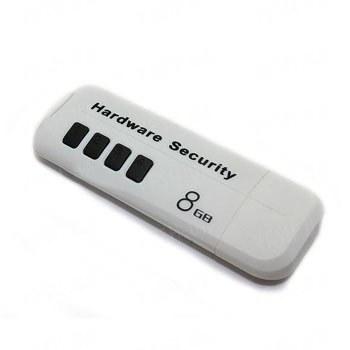 USB флешка на 8 Gb со встроенной аппаратной защитой от считывания и защитой данных паролем (модель АК-210)