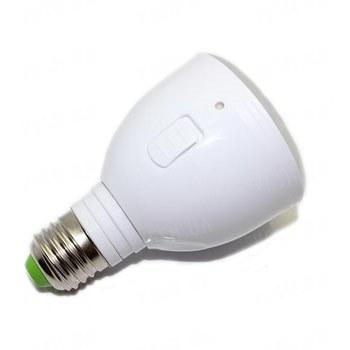 Автоматическая светодиодная 4W лампа освещения со встроенным аккумулятором на случай пропадания электричества - время работы от аккумулятора 3 часа (мод. MB4W-B)