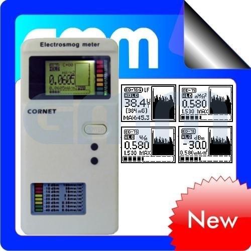 Cornet ED75 EMF 100Mhz - 6Ghz монитор поиска жучков с удержанием