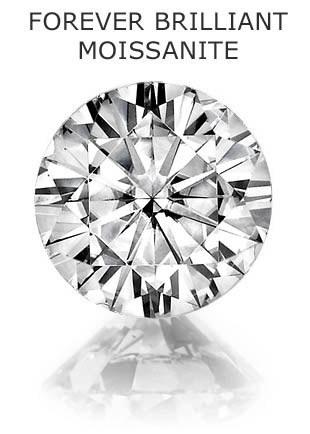 Муассанит Charles & Colvard FOREVER BRILLIANT бриллиантовая огранка