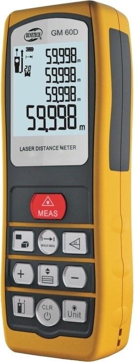 Лазерная рулетка (10 см-60 м)