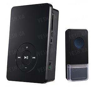 Беспроводной дверной звонок MP3 с поддержкой карт памяти SD