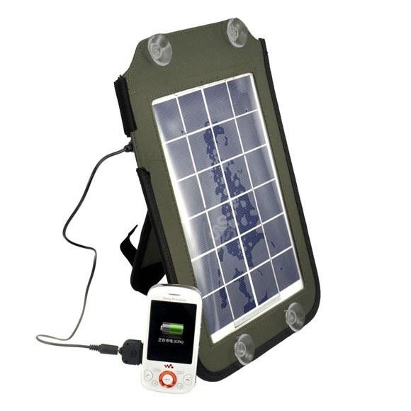 Солнечная 5Вт портативная панель USB для iPhone/iPad