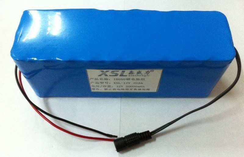 Оригинальный литий-ионный аккумулятор 12V с РЕАЛЬНОЙ ёмкостью 50000mAh, током разряда 6А и платой защиты от разряда и перезаряда (YABO-12050000)