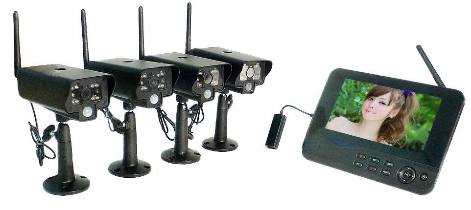 Беспроводная Система Видеонаблюдения Street IP, P2P