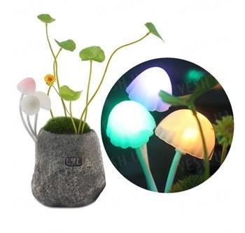 """Необычный романтический светодиодный LED светильник - ночник с грибами в стиле """"Аватара""""- отличный подарок друзьям и подругам"""