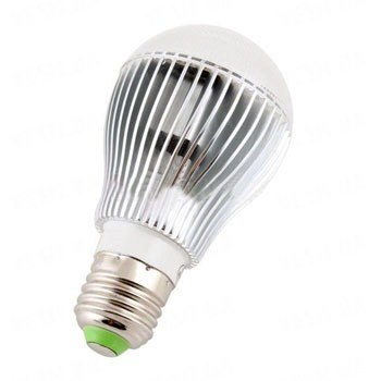 Новинка 12W LED лампочка с микроволновым сенсором движения для включения выключения света(мод. E-27-12W)