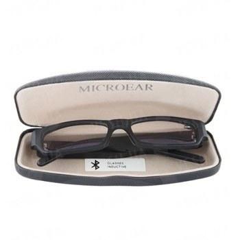 Беспроводный микронаушник для экзаменов с bluetooth модулем и индукционным передатчиком в виде очков Элита-люкс + очки