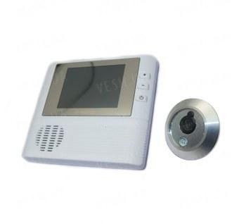 """Электронный цифровой видеоглазок для двери с 2.8 """"дюймовым экраном и 3 х кратным цифровым зумом (мод. G-home)"""