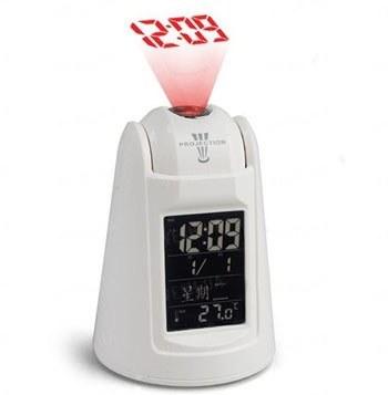 Проекционные сенсорные настольные электронные часы - будильник с сенсором на хлопок ладонями и звуковым проговариванием времени (мод. EG-809)