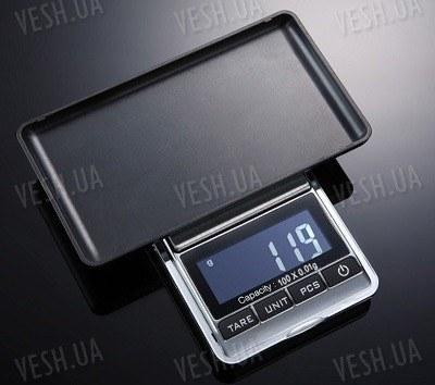 Весы портативные цифровые ювелирные 100г x 0.01г