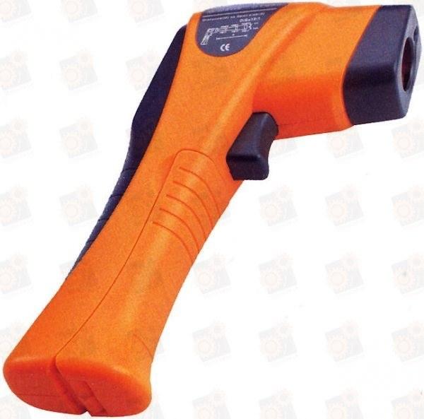 Цифровой дистанционный термометр ИК с лазерным указателем -25С до +350С