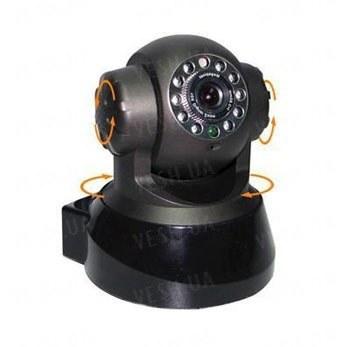 Проводная сетевая PTZ поворотная IP камера с разрешением 640x480 и ИК подсветкой до 5 метров (модель FOSCAM FI8908)