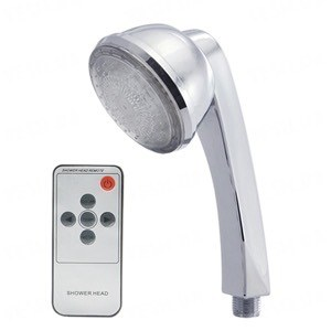 Насадка для душа с гламурной изменяющей цвета LED подсветкой и пультом дистанционного управления (AS-3)