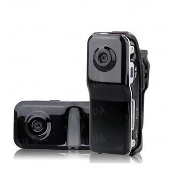 Бюджетный пластиковый 720х480 миниатюрный видеорегистратор с записью на micro SD карты памяти до 8 Gb (модель MD-180)