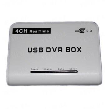 Профессиональный RealTime 4-х канальный USB видеорегистратор c 4-мя аудиовходами с поддержкой Windows 7 для компьютеров и ноутбуков (модель ES-U604) !!!ЦЕНА СНИЖЕНА!!!